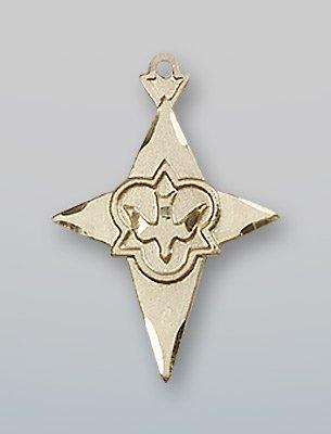 14 ktゴールドクロスメダル B0741CTH7M