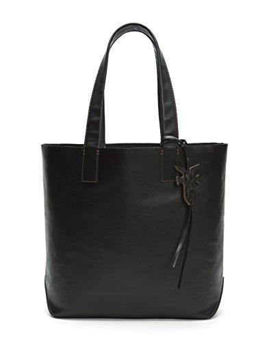 FRYE Carson Leather Tote Bag, black