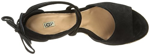 Black Sandal Women's UGG Reagan Wedge Australia vnFOqX0