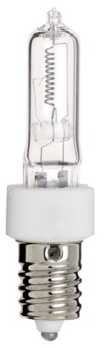 Satco S3134 120V 250-Watt T4.5 E14 Base Light Bulb, Clear