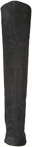 Nine West Women's Queddy Suede Over the Knee Boot, Black, 7 Medium US by Nine West (Image #4)