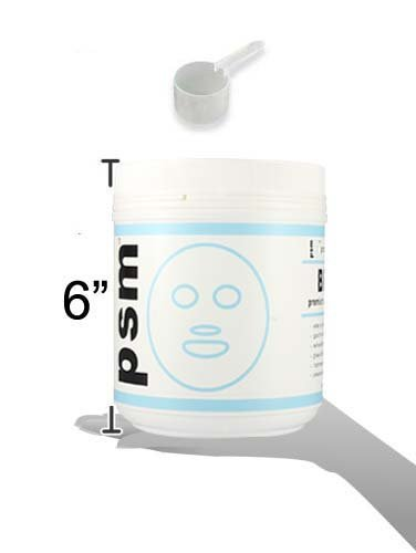 psm BRIGHT Premium Algae Peel Off Facial Mask Powder for Professional Skin Care 17.6 OZ (1.1LB / 500g) by PSM Beauty (Image #5)