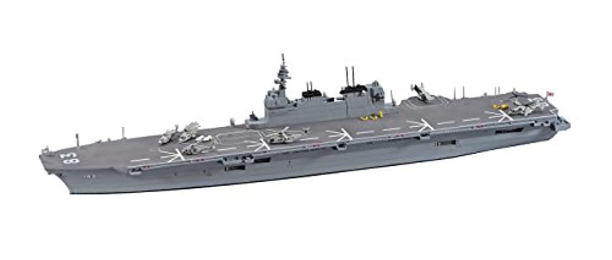 [해외] 하세가와 1/700 워터 라인 시리즈 해상 헬리콥터 탑재 호위함 있지 않도 프라모델  031