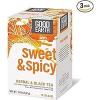Good Earth: Sweet & Spicy Herbal Tea, 18 bags (3 pack) Please read the details before purchase. There is no doubt the 24-hour contacts.