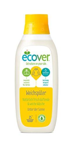 Ecover Ökologischer Weichspüler Unter der Sonne, 6er Pack (6 x 750 ml)