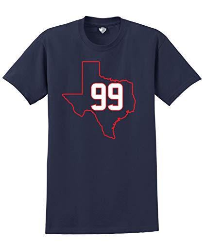 - Football Players Number T-Shirt #99 Watt, L