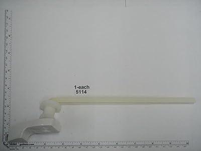Briggs Genuine Part 5114 plastic trip lever; in White