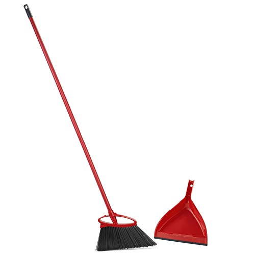 O-Cedar Angler Angle Broom With Dust Pan ()