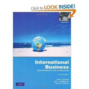 international business environments and operations Start studying pearson international business: environments and operations 15th edition, chapter 2 learn vocabulary, terms, and more with flashcards, games, and other study tools.