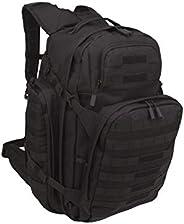 SOG Barrage Tactical Internal Frame Pack Backpack (Black, X-Large)