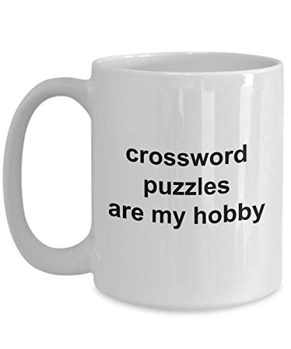 - Crossword Puzzle Mugs Crossword Player Cups Ceramic Cups Novelty Gift End of Year Gift