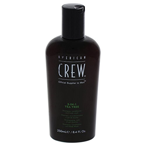 Price comparison product image American Crew 3-In-1 Tea Tree Body Cleanser, 8.4 Ounce