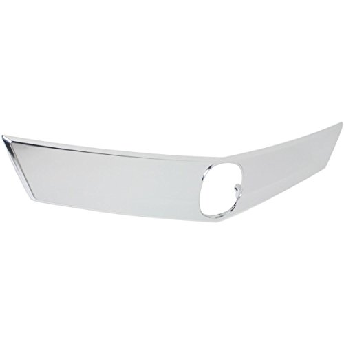 Elite7 Grille Assembly CHROME Replacement for 12-14 Acura TL AC1200120 ()