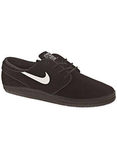 Nike Men's Lunar Stefan Janoski Black/White Skate Shoe 10...