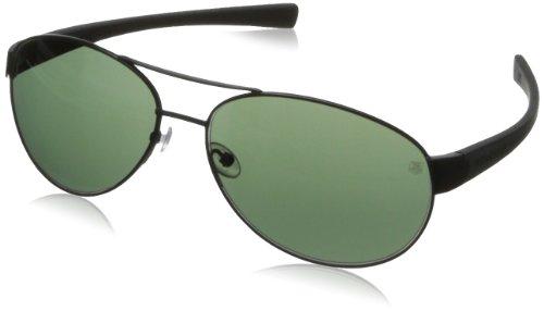 Tag Heuer Lrs25630162 Aviator Sunglasses - Matt Black & B...