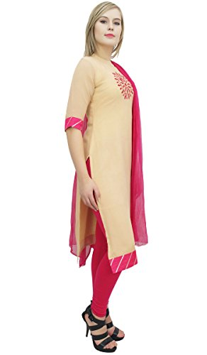 Atasi Casual Churidar Long Salwar Straight Beige Cut Magenta amp; Readymade Suit Georgette TYwBx4rqnT