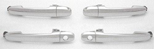 (DELPA CL4291 > ALL 4 pcs = CHROME Outside Outer Exterior Door Handles Fits: Toyota Pontiac Scion Lexus Scion)
