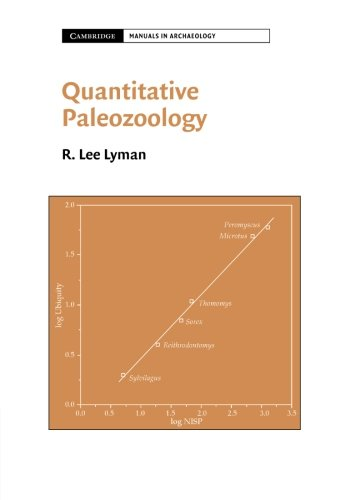Quantitative Paleozoology (Cambridge Manuals in Archaeology)