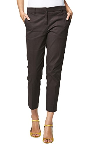 next Mujer Pantalones Capri Chocolate