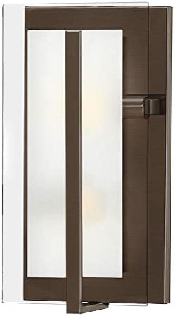 Hinkley Latitude Collection Transitional Two Light Wall Sconce