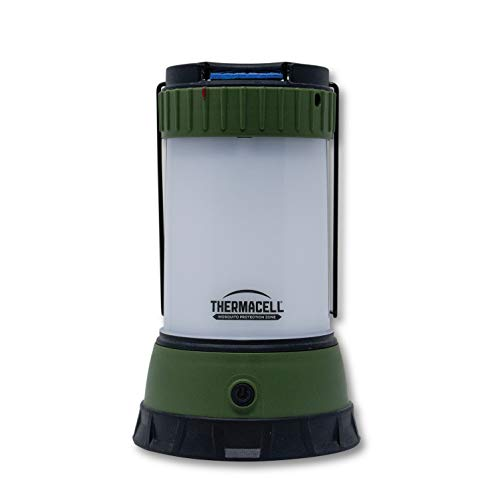 Thermacell Scout Mosquito Repellent Camp Lantern; Backyard to The Backwoods, The Battery-Operated, DEET-Free, Versatile, Compact, Lightweight, Camping Gear Creates 15-Foot Zone of Mosquito Protection