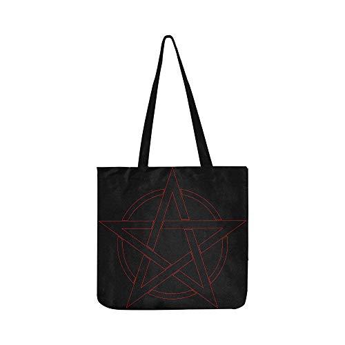 964da3529032 Magic Pentagon With Angles Canvas Tote Handbag Shoulder Bag Crossbody Bag  Lightweight Canvas Grocery Bags For Men Women Boy Shopping Laptop Beach