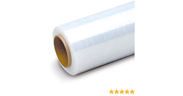 """Industrial Strength Boxes Furniture 3/"""" Core Clear Shrink Banding Film Roll Stretch Pallet Wrap 80 Gauge AVG Packaging Supplies Pallets 2-Pack 3/"""" Inch X 1000 Ft Made in USA"""
