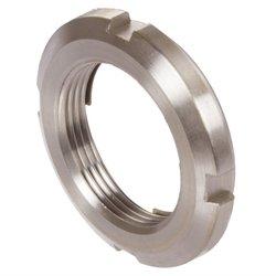 Locknut UW with integral locking device M60x2 stainless steel 1.4301 MAEDLER 65399471