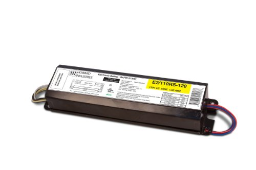Howard Lighting E2/110RS-120 Electronic Ballast for Operating Two F96T12HO Lamps ()