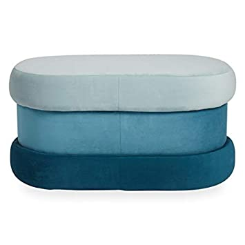 Now House by Jonathan Adler Chroma Upholstered Bench with Storage, Teal