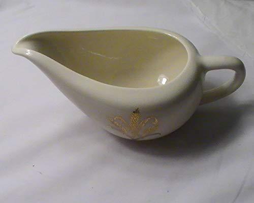 Vintage Golden Wheat Creamer ()