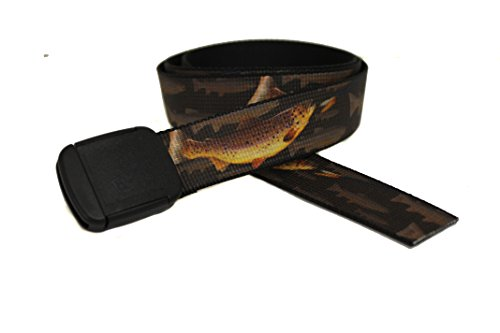 Trout Belt (Brown Trout 1 Hiker Belt Made in USA by Thomas)