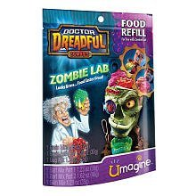 Doctor Dreadful Zombies Zombie Lab Food Refill -