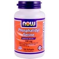 Maintenant extraire Foods phosphatidylsérine W / Ginkgo Biloba, 100 gélules