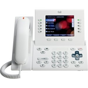 Cisco CP-8961-W-K9= Unified IP Phone Standard Handset, White (Cisco Cordless Handset)