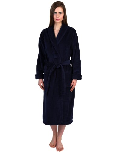Towelselections Women S Robe Turkish Cotton Terry Velour