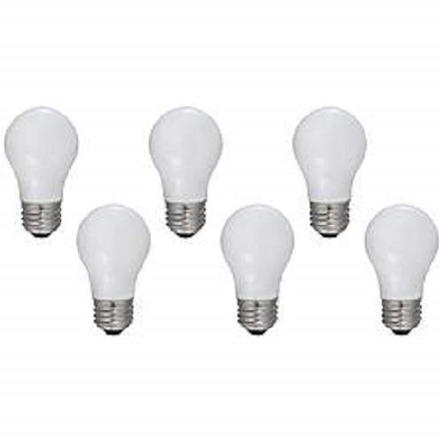 Frosted Appliance - GE Appliance Light Bulb 40w A15 - (Pack of 6) (Frosted)