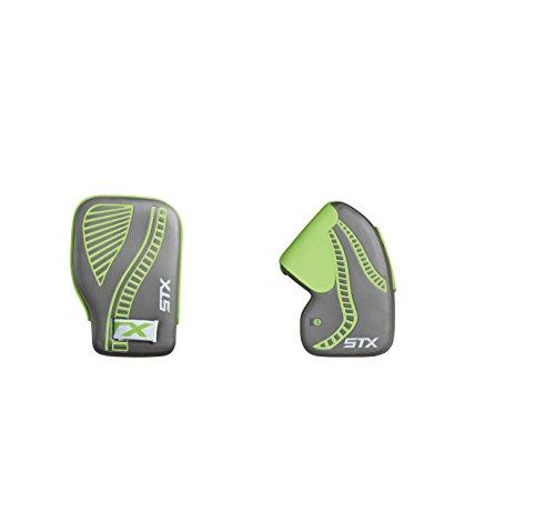 STX Field Hockey Anchor Goalie Gloves, Gray