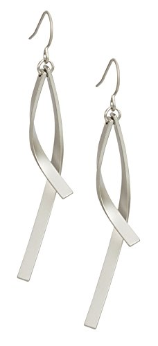 New! Metal Confetti Earrings for Women | SPUNKYsoul Collection ()