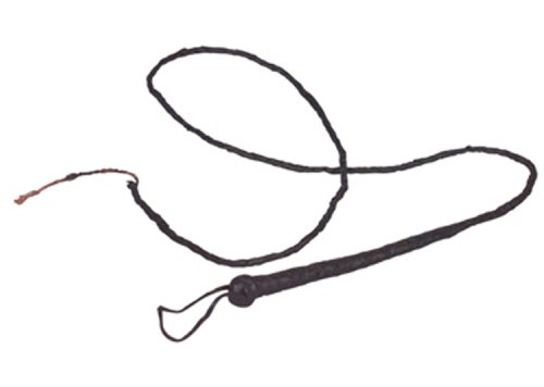 Long Bull Whip Costume Accessory