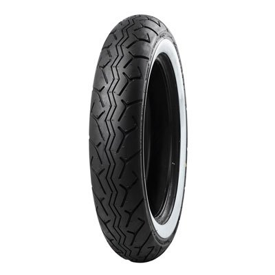 130/90-16 (67H) Tube Type Bridgestone G703 Front Motorcycle Tire White Wall for Yamaha Road Star XV1700 2004-2009
