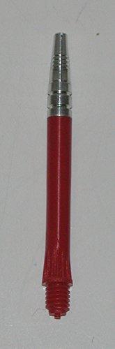 US Darts - 2 Sets (6 shafts) Red Alamo Dart Shafts - Short Length