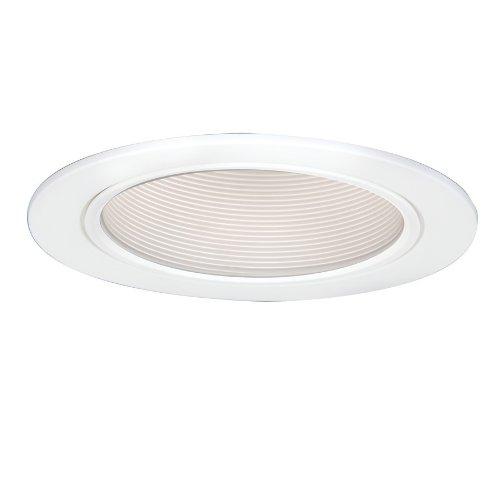 EATON Lighting 5016W 5-Inch Coilex Baffle, White Trim with White Baffle ()