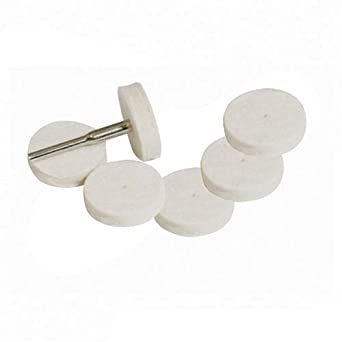 7 Piece 22mm Silverline Rubber Polishing Disc