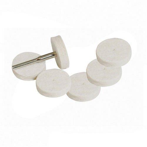 /Ø22 mm 7 pzas Discos pulidores de goma para herramienta rotativa Silverline 457002