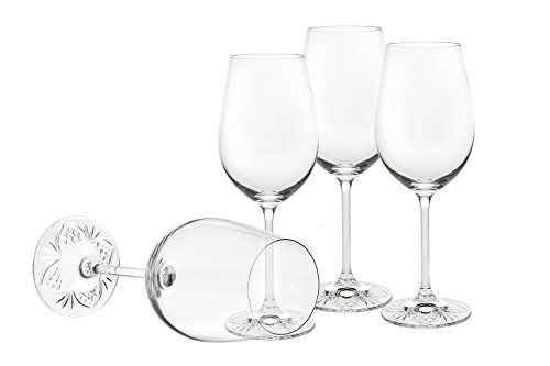 Godinger Silver Art Dublin Edge 12 Oz White Set of 4