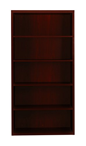 HON Valido 11500 Series Bookcase, 5 Shelves, 36 W by 13-1/8 D by 71 H, (Hon Clear Chair)
