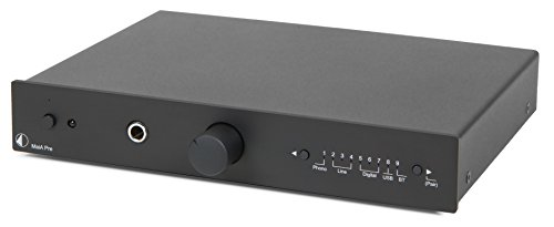 Pro-Ject Hi-Fi Stereo Amplifier (MaiA Pre (black)) by Pro-Ject