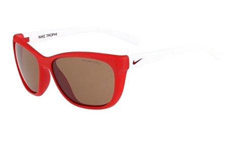 Nike Vermillion Lens Trophi Sunglasses, University Red/White by Nike