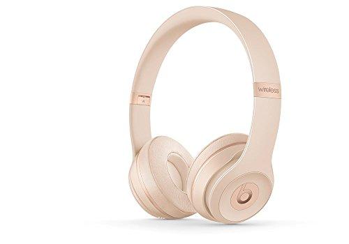 Beats Solo3 Wireless On-Ear Headphones - Matte Gold (Certified Refurbished)